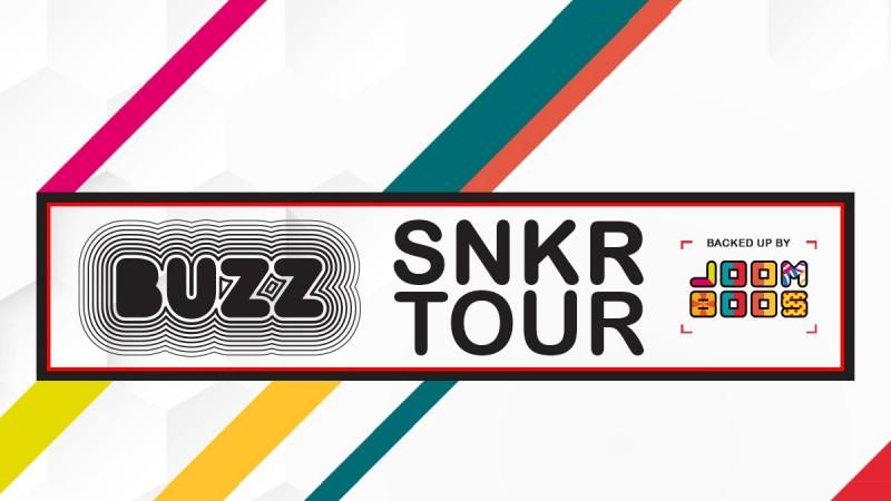 Buzz SNKR tour kao savršeni spoj između Vas i vaših omiljenih Youtubera!