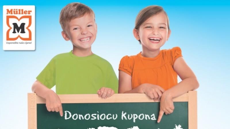 Akcija na školske torbe u Mülleru