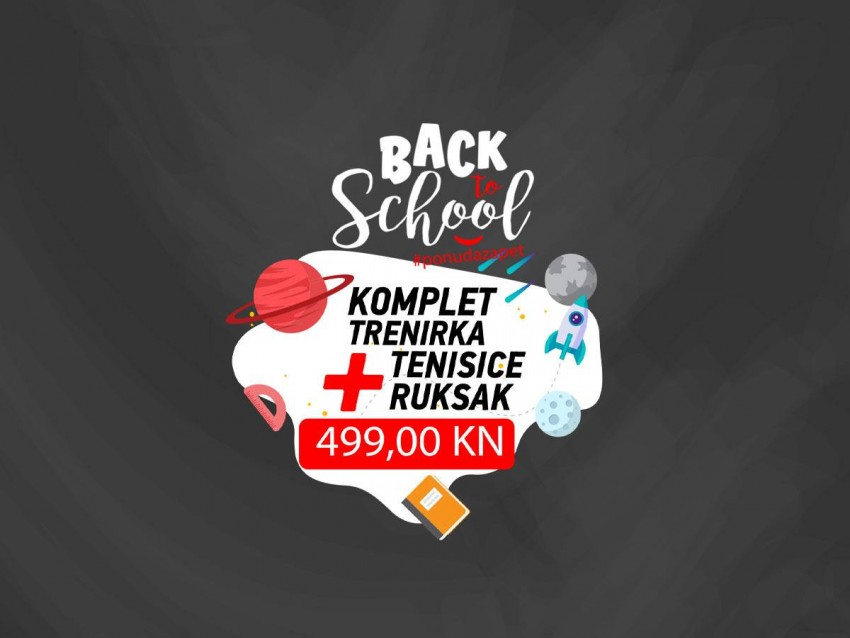 Back to school vikend akcija u Sport Visionu