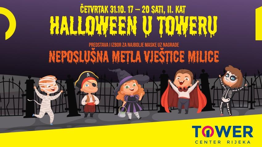 Halloween party uz predstavu i izbor za najbolje maske