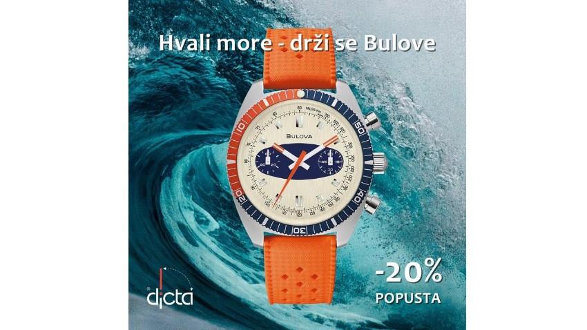 Akcija Hvali more - drži se Bulove u trgovini Dicta