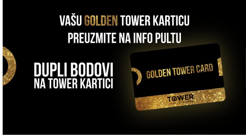 DUPLI BODOVI ZA KORISNIKE GOLDEN KARTICE U RUJNU