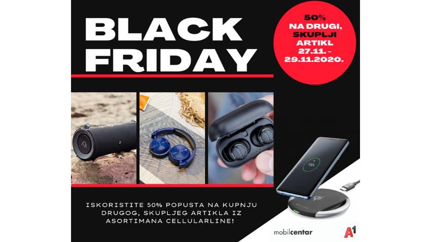 BLACK FRIDAY U TRGOVINI A1 MOBILCENTAR