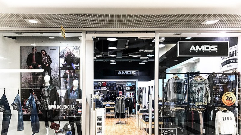 Tower Center Rijeka - Amadeus Jeans