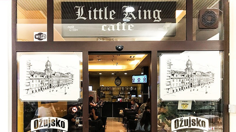 Tower Center Rijeka - Little King