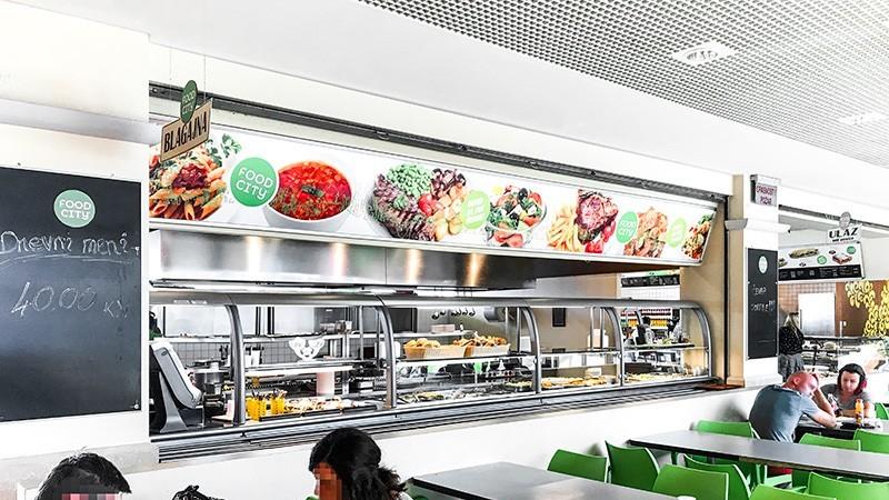Tower Center Rijeka - Food City
