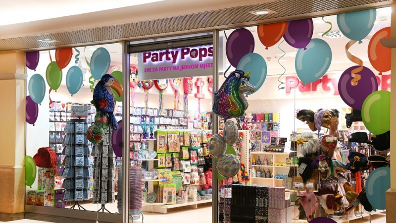 Tower Center Rijeka - Party Pops
